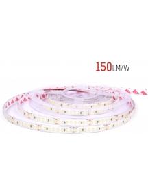 strip led serie h e 130w luce fredda striscia led ultra luminosa 23.9w al metro 24v ip20 pcb 10mm bobina da 800 smd 2835 2631
