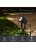 mi light futc04 faretto da giardino con picchetto led 6w  rgb+cct 2700k  6500k 220v ip66 3373