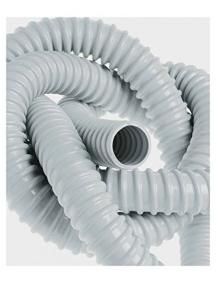 faeg 17032 guaina vinilica spiralata  grigia 1 metro diametro 32mm fg17032