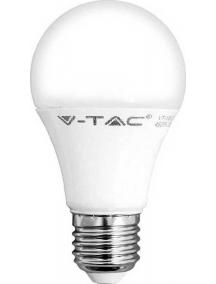 v tac lampada lampadina goccia 9w e27 luce calda led bulb a60  vt 2099 sku 7260