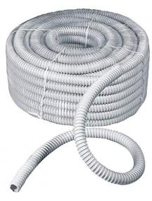 faeg 17040 guaina spiralata  flessibile grigia 1 metro diametro 40mm fg17040