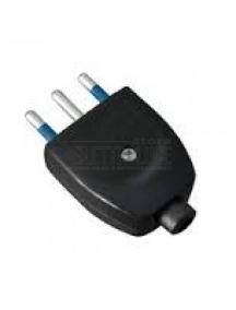 faeg 20601 spina volante nera 2p + t 10 a ip20 250v economica fg20601