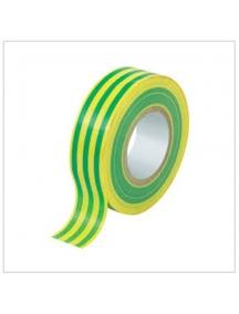faeg 27191 nastro isolante  pvc  metri 25 x 19mm giallo verde fg 27191