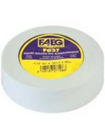 faeg 27195 nastro isolante pvc metri 25 x 19mm bianco fg 27195
