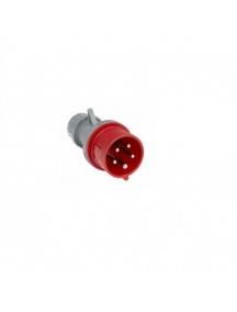 faeg 23716 spina volante cablaggio rapido fast 3p+t+n  16a rossa 400v ip44 fg 23716