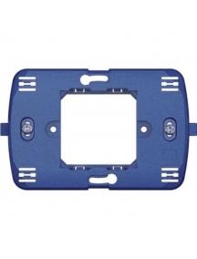 bticino living light supporto  per placche quadre moduli centrali 2 moduli per 503 bticino ln4719