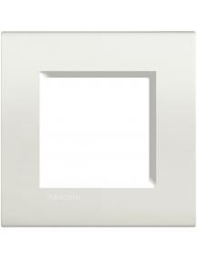 bticino  living light  placca 2 posti bianco bticino lna4802bi