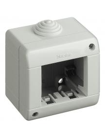 bticino matix contenitore 2 moduli ip40 idrobox bticino 25402