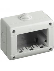 bticino matix contenitore 3 moduli ip40 idrobox bticino 25403