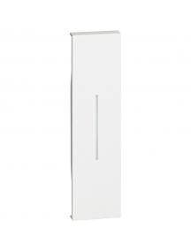 bticino living now  cover illuminabile per comandi un modulo colore bianco  bticino kw01