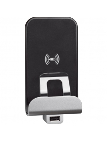 bticino living now caricabatterie ad induzione usb 1a bticino kw4286cw2