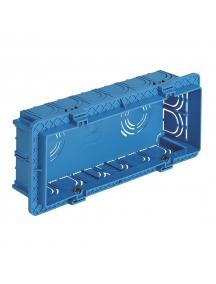 vimar cassetta ad incasso sei posti rettangolare vimar v71306