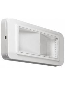 beghelli lampada di emergenza completa led 24w sa 1n ip40 beghelli 4110