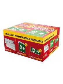 beghelli kit upled 2p 824s piu segnaletica beghelli 824sk2