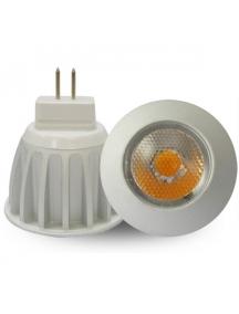 lampada faretto  dicroica lampadina a led mr11 3w 250 lumens 25° luce fredda  0944
