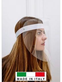 visiera protettiva occhi volto orientabile schermo trasparente paraschizzi  de121
