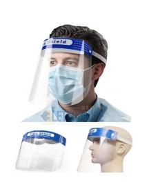 visiera protettiva schermo trasparente antiappannamento antiriflesso paraschizzi CE j9056014