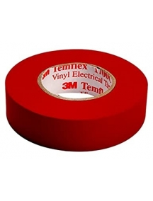 3mi nastro isolante autoestinguente rosso  in pvc  19x25 mm 3MI7000106692