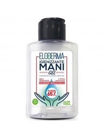 igienizzante mani portatile eloderma in gel alcool 65% con aloe vera 80 ml 088860