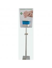 piantana  erogatrice dispenser gel automatica contacless igienica e di design 088984