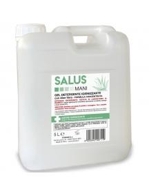 gel igienizzante detergente con aloe vera professionale tanica da 5 litri 089096