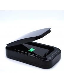 Sterilizzatore Igienizzatore Uv Per Telefoni Cellulari Mascherine Strumenti Uccide Il 99,9% Dei Batteri E Virus nero M1