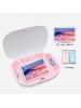 contenitore sterilizzatore virucida battericida al 99% UV portatile box S3
