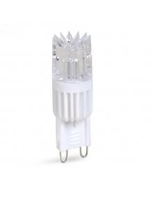 lampada led g9 epistar hv 230 lumen 2.5w lampadari ac 220v luce  fredda 160° 1529