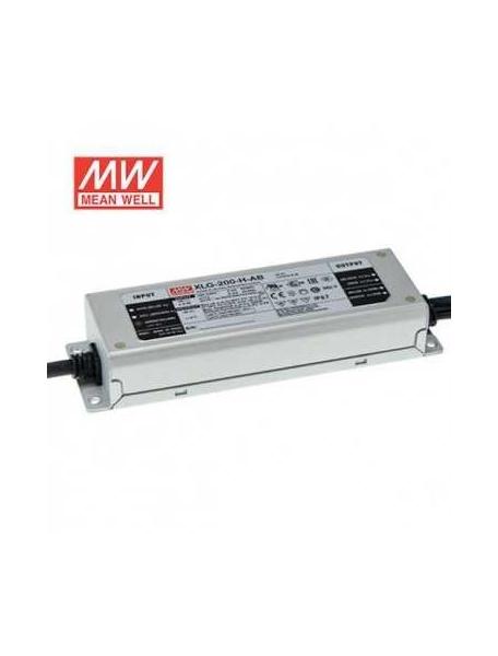 mean well   alimentatore ip67  ac/dc xlg-200-24 da 200w dc 24v  4251