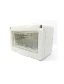 contenitore idrobox stagno bianco ip55 4 moduli posti compatibile con vimar plana 14904