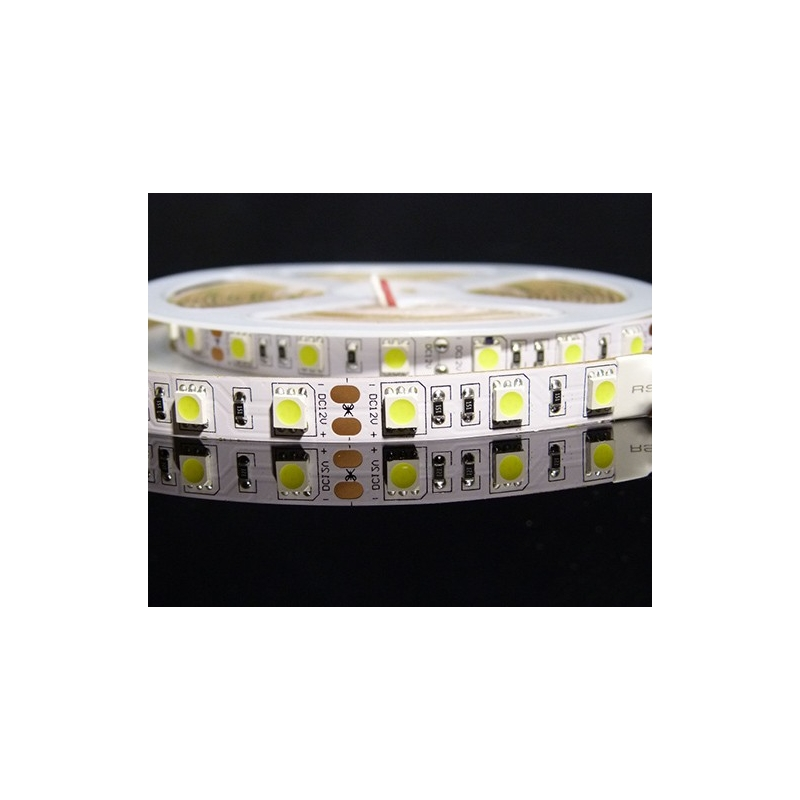 Striscia strip led bobina 5 metri 72w 300smd5050 luce for Luce led striscia