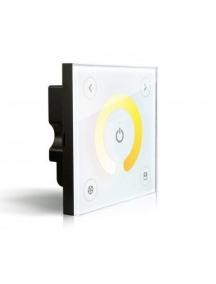 controller dimmer varialuce touch cct bianco  led freddo e caldo da incasso 196w dc12v  392w dc24v 1179