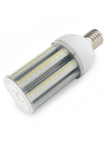 lampada stradale pannocchia led e40 corn 45w smd 3020  luce naturale s19 ip64 stagna esterno nuova 360° 4800 lumen 1301