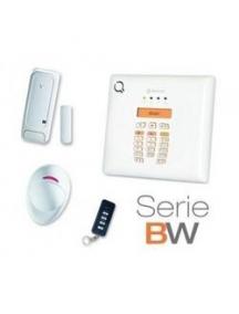 Kit antifurto radio con centrale 30 zone telecomando contatto magnetico e sensore nuovo economico
