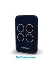 telecomando trasmittente genius quadricanale nuovo economico per automazioni 433mhz 6100334