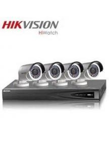 Kit TVCC videosorveglianza 4 telecamere + DVR 4 canali + HD500GB nuovo + alimentatori
