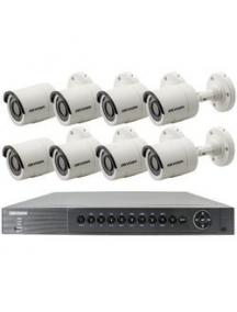 Kit TVCC videosorveglianza 8 telecamere + DVR 8 canali + HD1TB nuovo + alimentatori