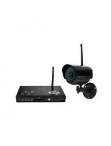 Telecamera TVCC IR colori via radio con ricevitore e memory card completa nuova economica