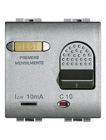 bticino nt4305/10 light tech magnetotermico differenziale salvavita 1p+n 10a 3ka 10ma BTINT4305/10