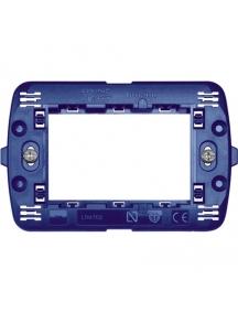 bticino ln4703 living light supporto per interruttori modulari 3 moduli cestello portafrutti incasso BTILN4703