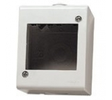 vimar idea contenitore ip40 2 moduli per   8000 grigio esterno parete vimar 13023