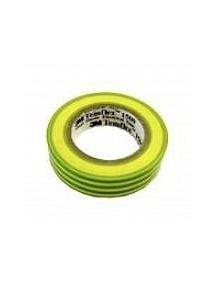 nastro isolante in pvc autoestinguente giallo verde 15x10mm 7000106670