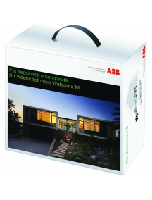 abb wlk201b startkit video monitor a colori m20341