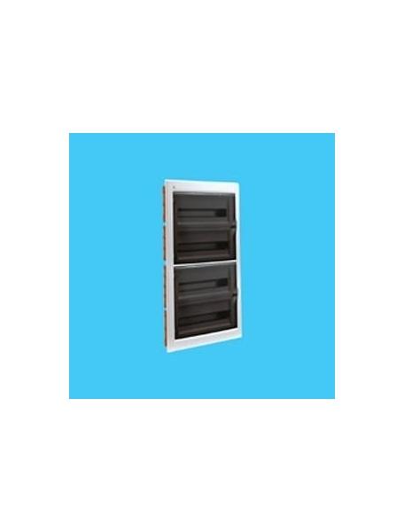 Bocchiotti 04147 ip40 centralino quadro da incasso 72 w0 for Quadro esterno 72 moduli