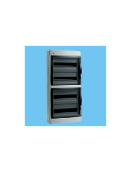 Bocchiotti 06528 ip65 72 gri centralino quadro da parete for Quadro esterno 72 moduli