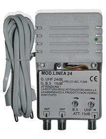 Cus 308 amplificatore di linea 24db