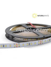 striscia led  strip flessibile bobina 5 metri 60w  24v ip20 luce naturale 6000 lumen  600smd3014 1150