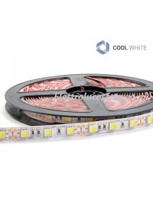 strip led 12v 72w  striscia bobina 5 metri  luce fredda 5400 lumen   300smd5050 non impermeabile ip20 0482
