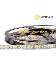strip led  striscia bobina 5 metri 24v  48w 600smd3528 ip65 luce  calda impermeabile 3600 lumen  0707