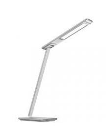 lampada abat jour led bianca da tavolo design 10w 220v artdel41